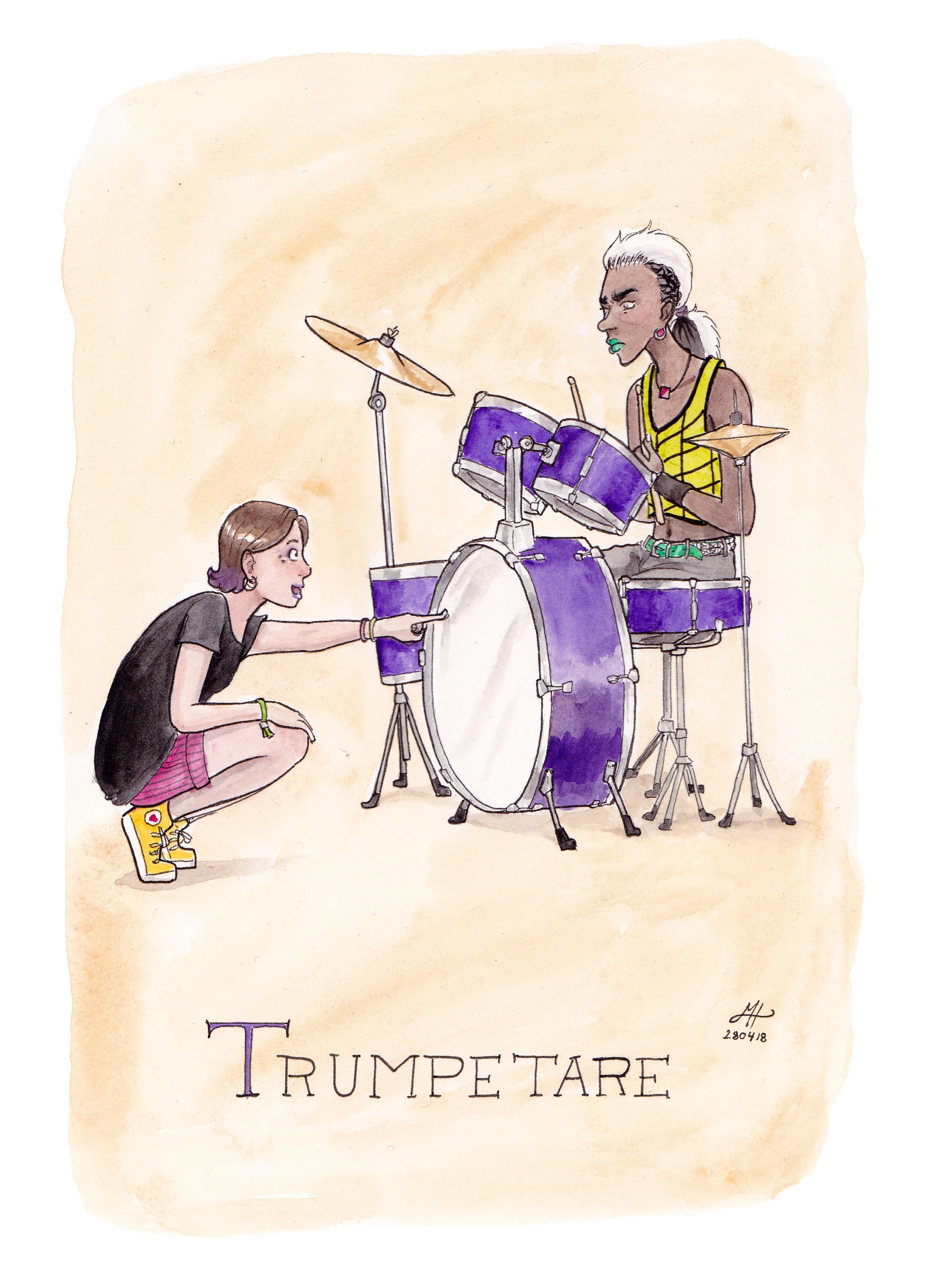 trumpetare ordvits