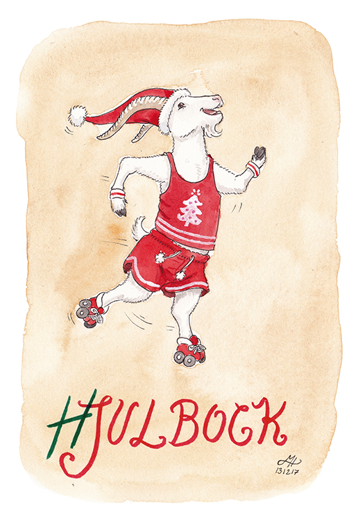 hjulbock illustration ordvits