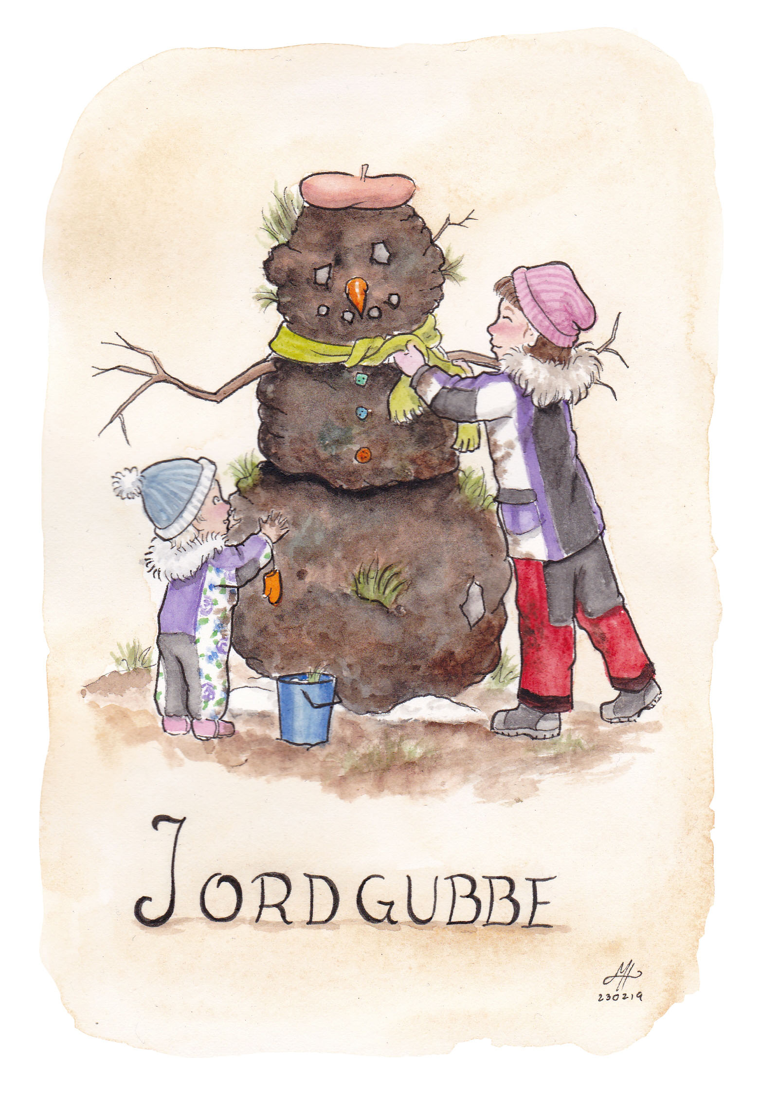 jordgubbe illustration ordvits